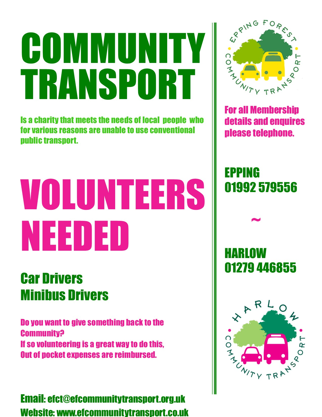 Volunteers Needed Poster 2017